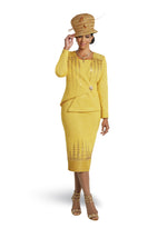 DONNA VINCI 13257 KNIT 2PC SUIT