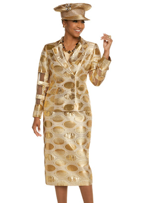 DONNA VINCI 5605 WOMEN CHURCH SUIT