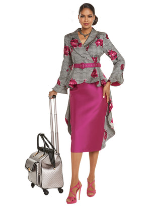 WOMEN CHURCH SUIT DONNA VINCI 5612