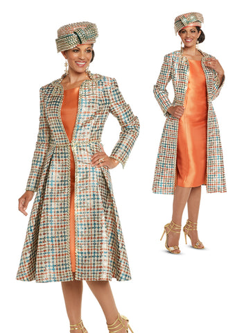 CHURCH DRESS DONNA VINCI 5615 WOMEN 2PC DRESS SUIT
