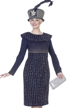 Elite Champagne 4964 Knit Dress