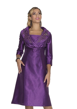 Aussie Austine 1030 Dress Twill Satin