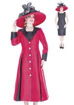 Aussie Austine 5120 Long Dress & Coat