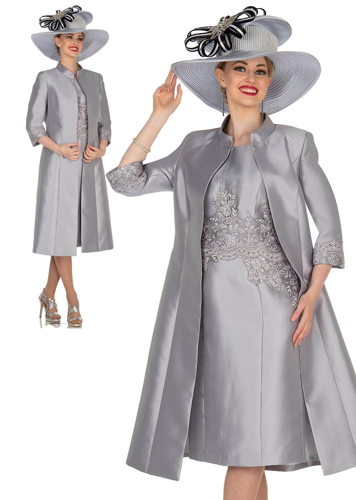 Champagne Italy 5406 Long Jacket Dress