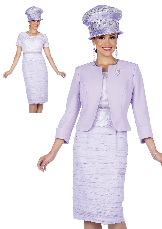 Champagne Italy 5313 Dress Lilac