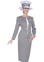 Champagne Italy 5201 Women 3Pc Skirt Suit