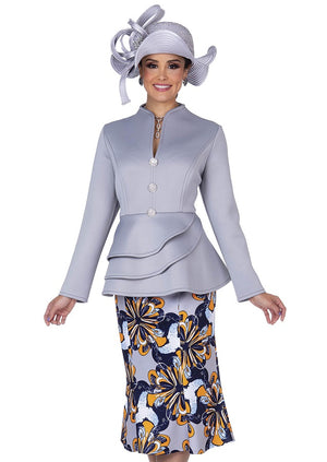 Champagne Italy 5306 Skirt Suit