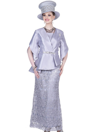 Champagne Italy 5207 Women Skirt Suit
