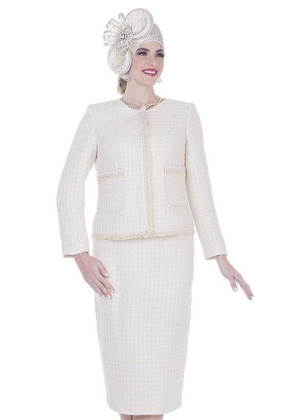 ELITE CHAMPAGNE 5253 WOMEN KNIT SUIT