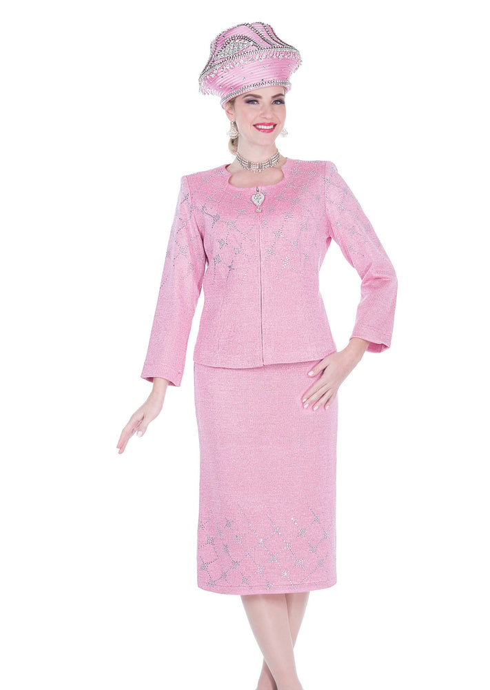 Elite Champagne 5160 Knit Skirt Suit