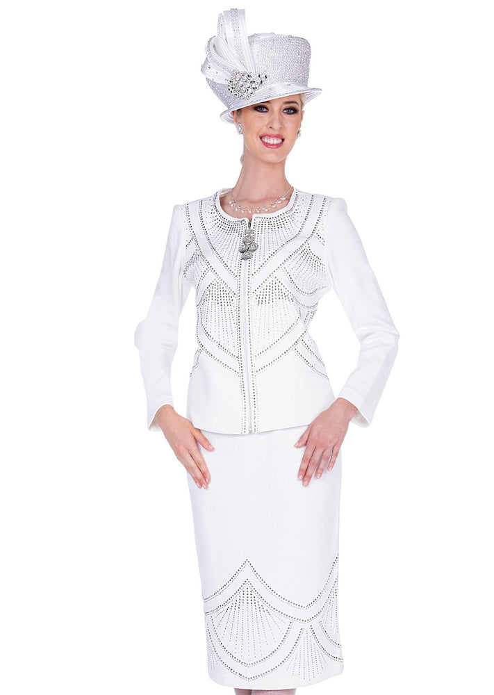 ELITE CHAMPAGNE 5354 WOMEN KNIT SUIT