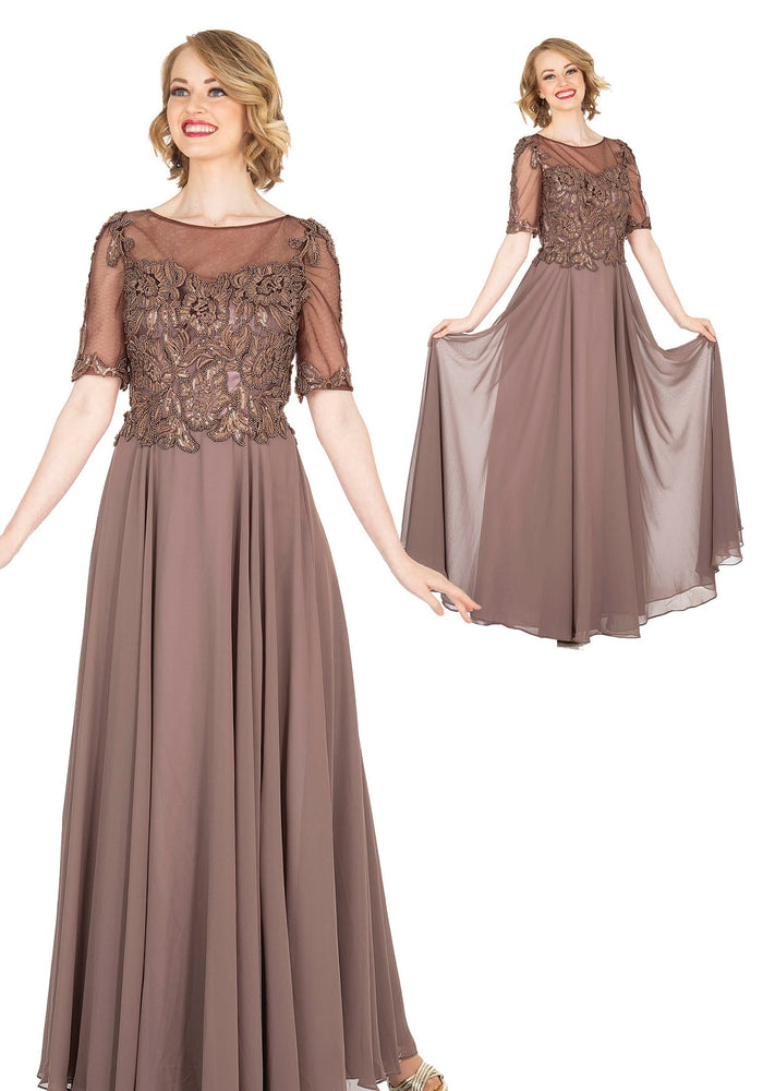 ELITE CHAMPAGNE 5413 DRESS