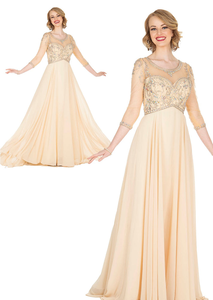 ELITE CHAMPAGNE 5414 DRESS