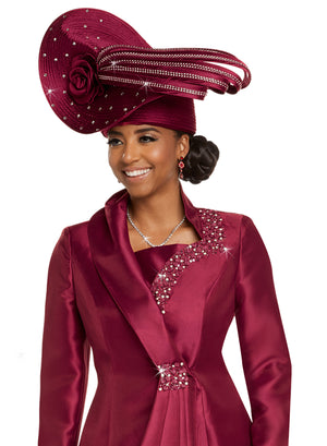 Donna Vinci H11714 Church Lady Hat