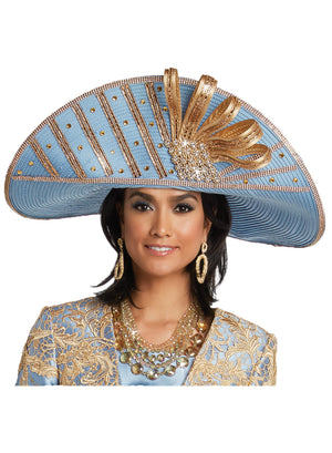 DONNA VINCI 11738 WOMEN CHURCH HAT