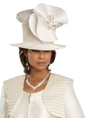 DONNA VINCI 11742 WOMEN CHURCH HAT