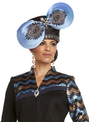 CHURCH HAT DONNA VINCI KNIT 13230