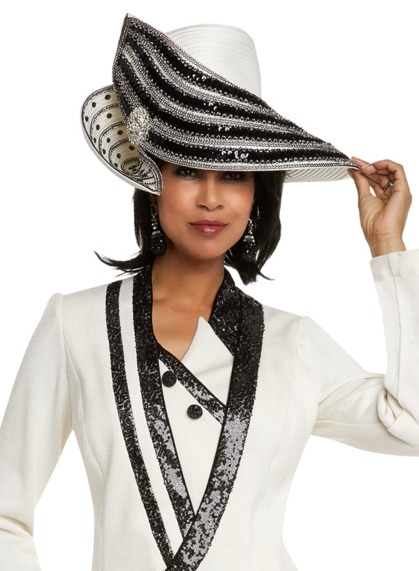 WOMENS CHURCH HAT DONNA VINCI KNIT 13231