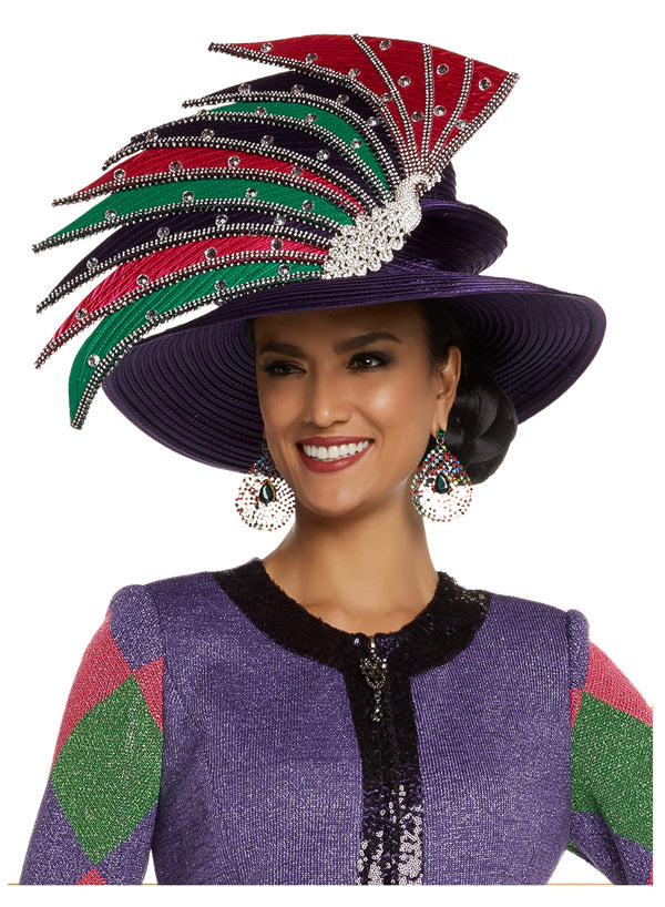 CHURCH HAT DONNA VINCI 13235