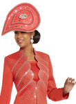 WOMENS CHURCH HAT DONNA VINCI 13239