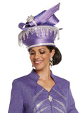 WOMENS CHURCH HAT DONNA VINCI 13243