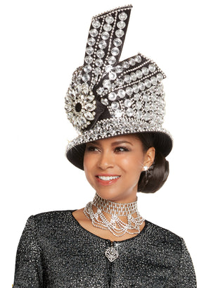 WOMENS CHURCH HAT DONNA VINCI 13245