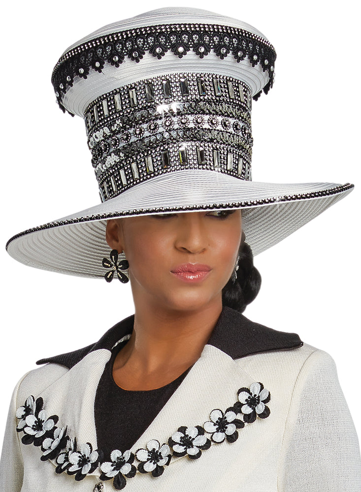 DONNA VINCI 13250 WOMEN CHURCH HAT