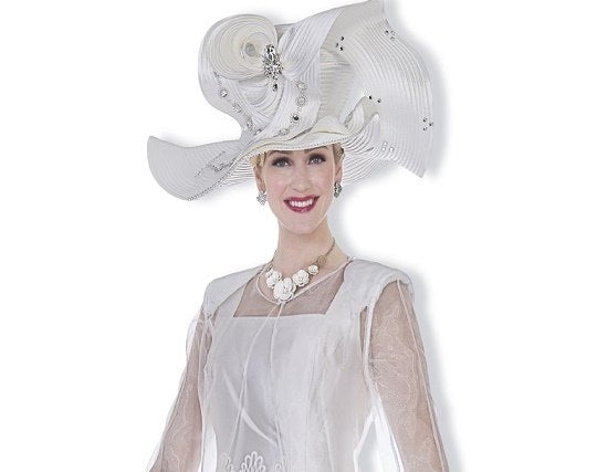 Champagne 5008 Womens Church Hat