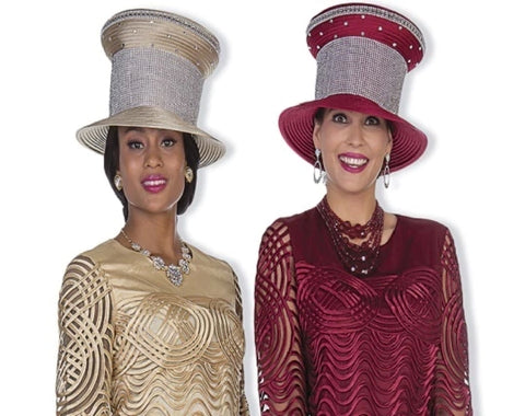 Champagne H5105 Fancy Hat
