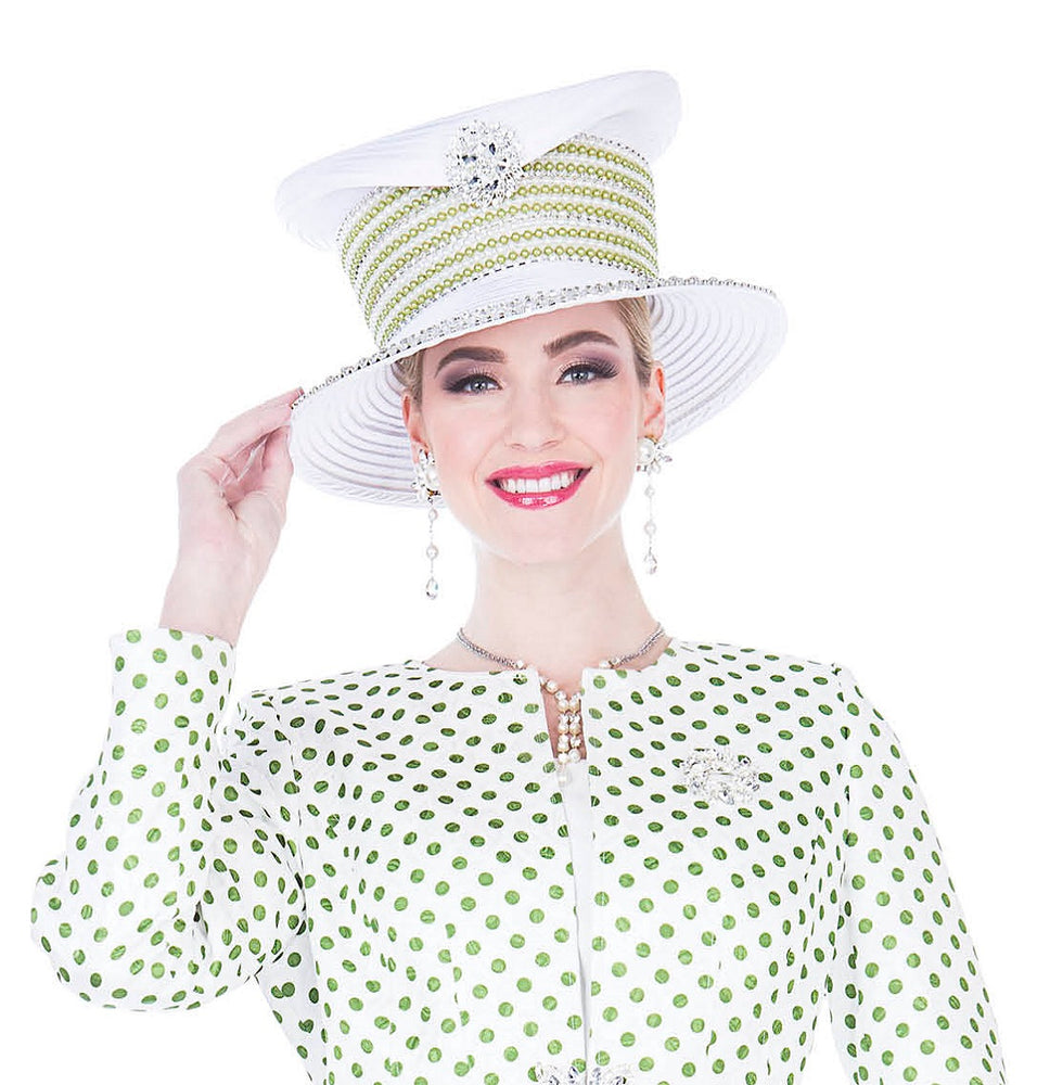 Champagne 5201 Women Church Hat