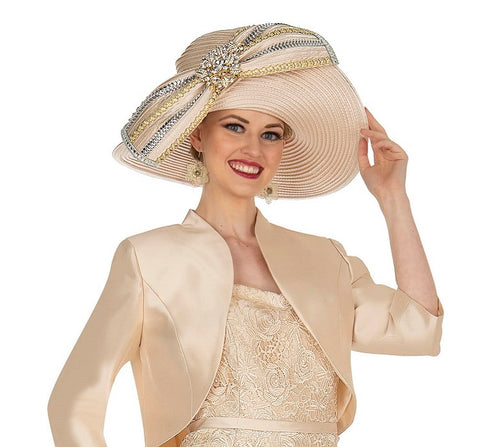 Champagne 5407 Church Hat