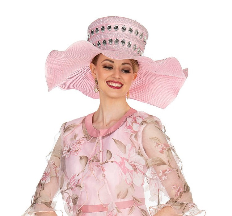 Champagne 5408 Hat - Church Hat