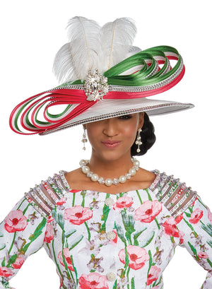 DONNA VINCI 5618 CHURCH HAT
