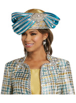 DONNA VINCI 5629 CHURCH HAT