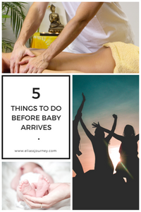 5 Things to do before baby arrives