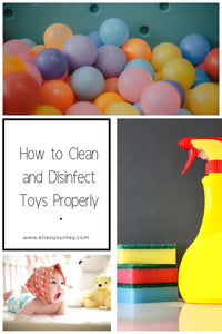 How to Clean and Disinfect Toys Properly