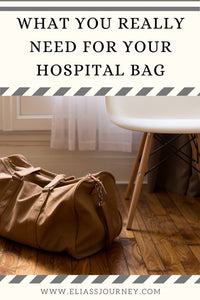What you really need in your hospital bag. 5 Essentials for Baby's Birth.