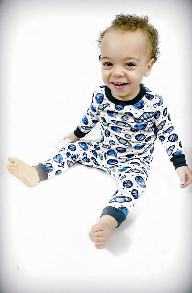 Boy's Two Piece Pajama Sleep Set