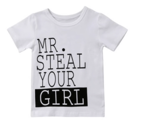 Mr. Steal Your girl T-Shirt - Elias's Journey