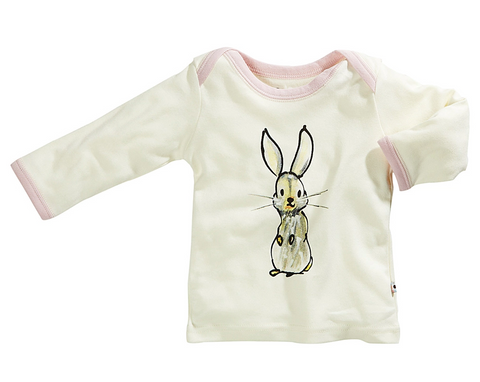 Janey Baby Lounge Tee - Rabbit Pre-Order