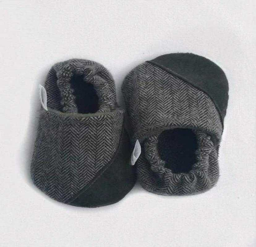 Asher Slip On Handmade Baby Shoes - Elias's Journey