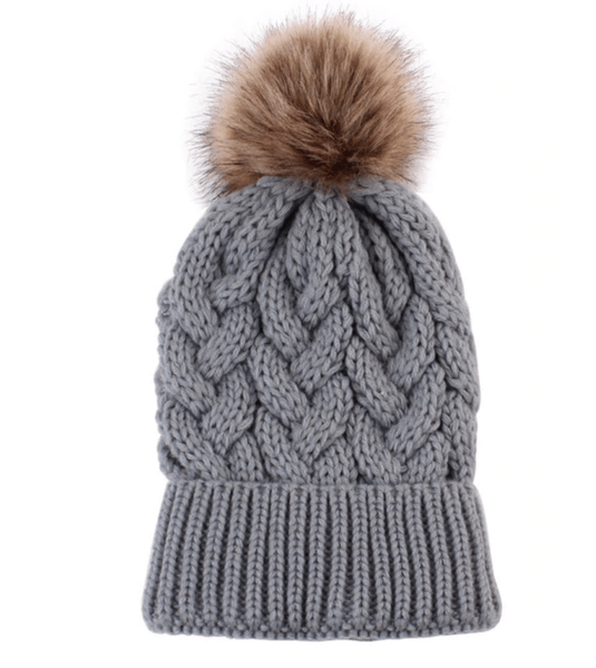 Knit Pom Pom Beanie |Baby - Elias's Journey