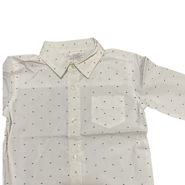 Toddler long Sleeve Button Down