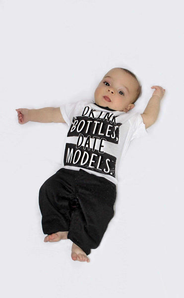 Drink Bottles Date Models T-Shirt - Elias's Journey