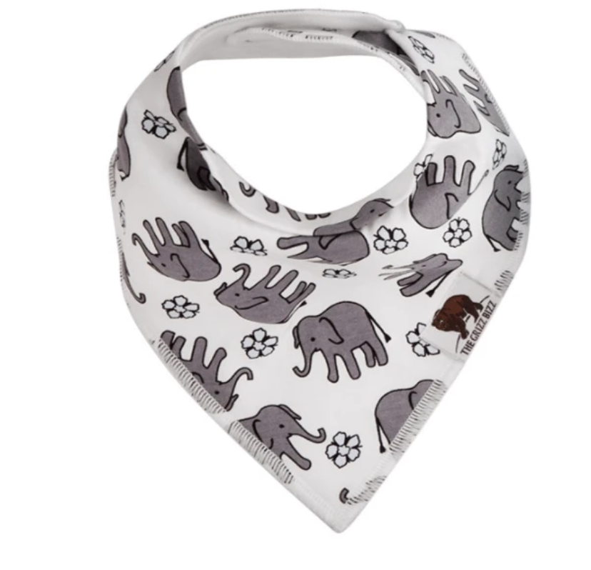 Elephant Bandana bib - Elias's Journey