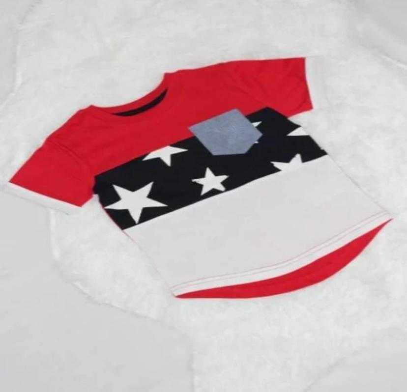Fourth of July Toddler Boy T-Shirt - Elias's Journey