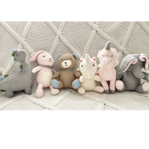 EJ's Knit Stuffed Animal Collection