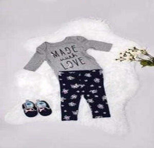 Made with Love 3 piece outfit - Elias's Journey