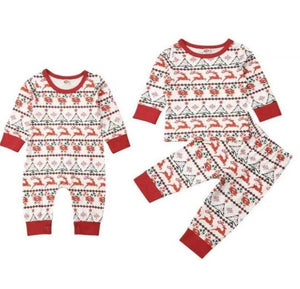 Elias's Journey Matching Christmas Pajamas