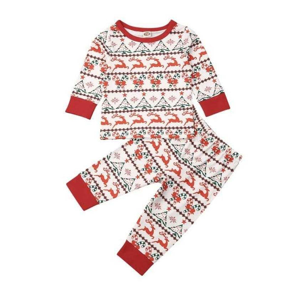 Matching Christmas Pajamas - Elias's Journey
